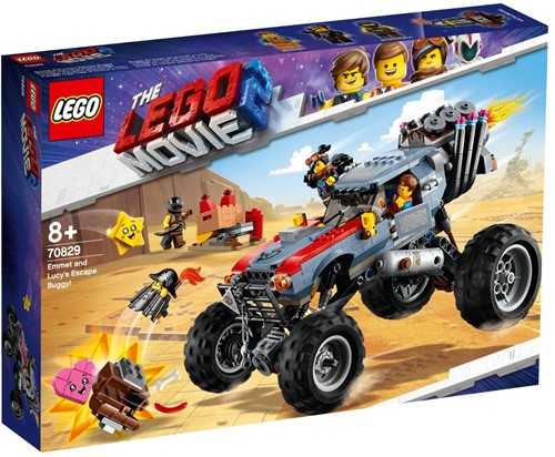 The LEGO® Movie 2™ Emmets en Lucy's vlucht buggy! - 70829