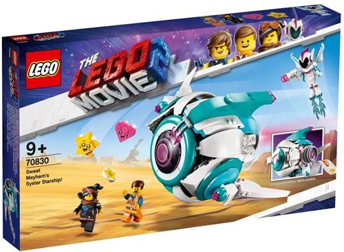 The LEGO® Movie 2™ 70830 Lieve Chaos' Systar ruimteschip