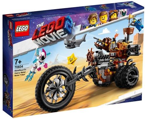 The LEGO® Movie 2™ Metaalbaards heavy metal trike - 70834