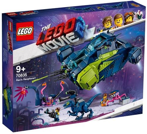 The LEGO® Movie 2™ 70835 Rex's verkenner!