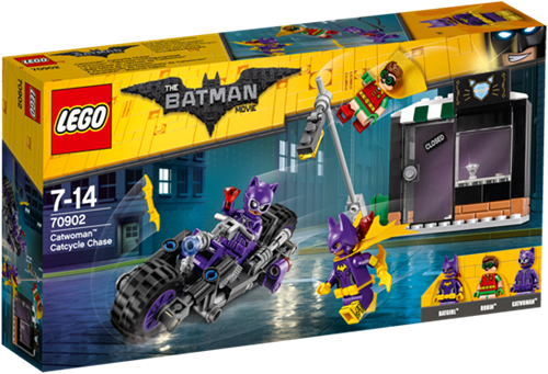 THE LEGO® BATMAN MOVIE 70902 Catwoman™ Catcycle achtervolging