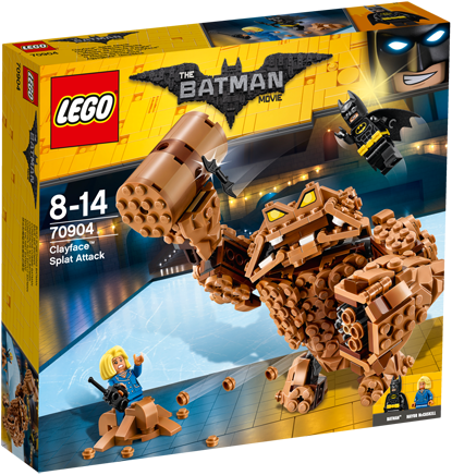 THE LEGO® BATMAN MOVIE 70904 Clayface™ Verplettervuisten