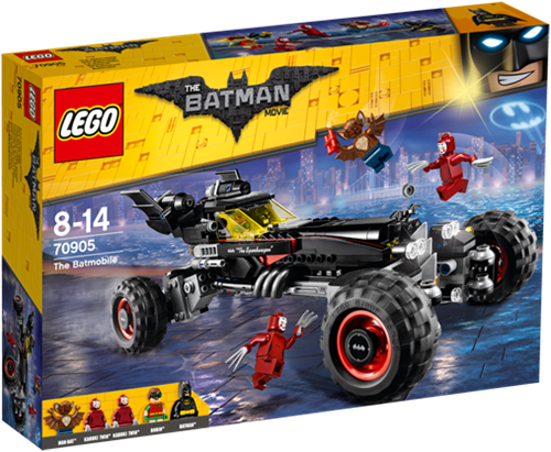 THE LEGO® BATMAN MOVIE The Batmobile - 70905