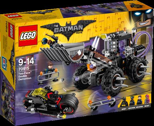 THE LEGO® BATMAN MOVIE 70915 Two-Face™ dubbele verwoesting