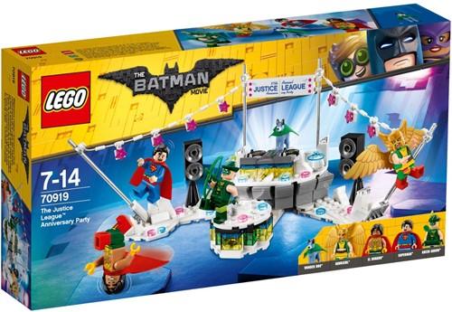 THE LEGO® BATMAN MOVIE Het Justice League™ jubileumfeest - 70919