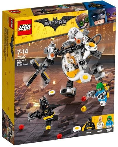 THE LEGO® BATMAN MOVIE Egghead™ mecha-voedselgevecht - 70920