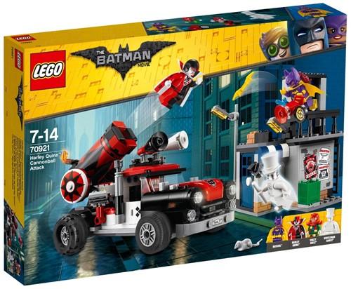 THE LEGO® BATMAN MOVIE 70921 Harley Quinn™ kanonskogel-aanval
