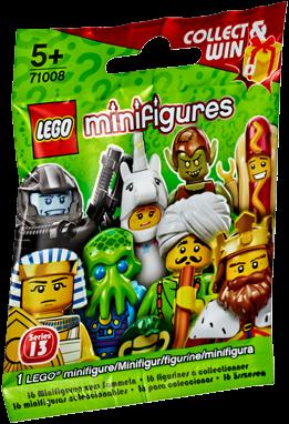 LEGO Minifigures Serie 13 - 1 stuks - 71008