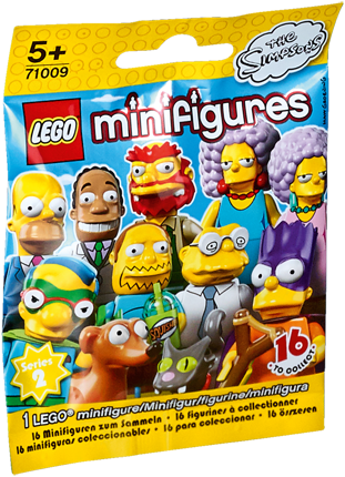 LEGO Minifigures The Simpsons™ Serie 2 - 1 stuks - 71009