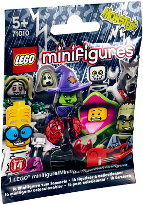 LEGO Minifigures 71010 Serie 14: Monsters - 1 stuks