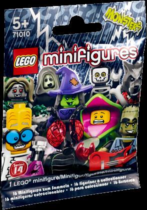 LEGO Minifigures Serie 14: Monsters - 1 stuks - 71010