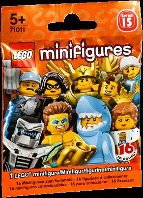 LEGO Minifigures Serie 15 - 1 stuks - 71011