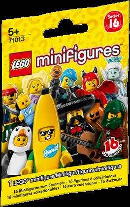 LEGO Minifigures Serie 16 - 1 stuks - 71013