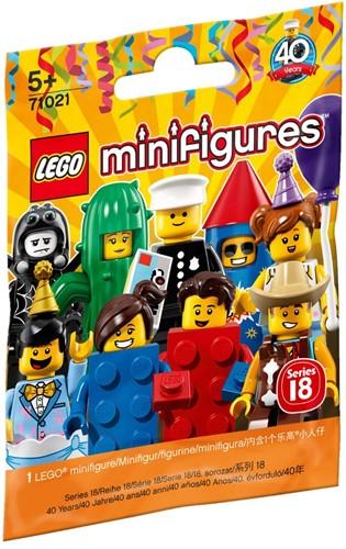 LEGO Minifigures Serie 18: Feestje - 1 stuks - 71021