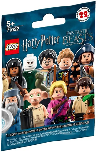 LEGO Minifigures 71022 Harry Potter™ en Fantastic Beasts™ - 1 stuks