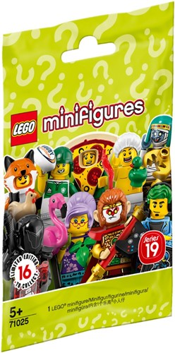 LEGO Minifigures Serie 19 - 1 stuks - 71025