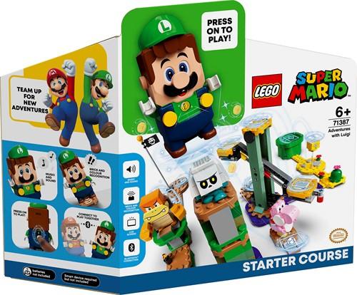 LEGO Super Mario™ Avonturen met Luigi startset - 71387