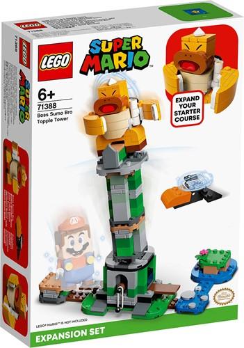 LEGO Super Mario™ Uitbreidingsset: Eindbaasgevecht op de Sumo Bro-toren - 71388