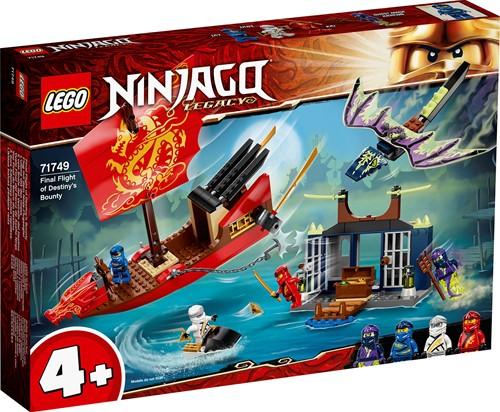 LEGO NINJAGO® Laatste tocht van Destiny's Bounty - 71749