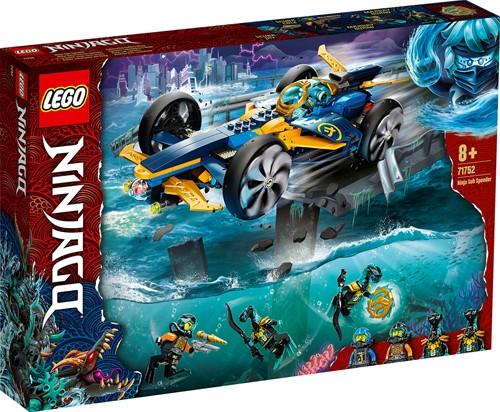 LEGO NINJAGO® Ninja sub-speeder - 71752