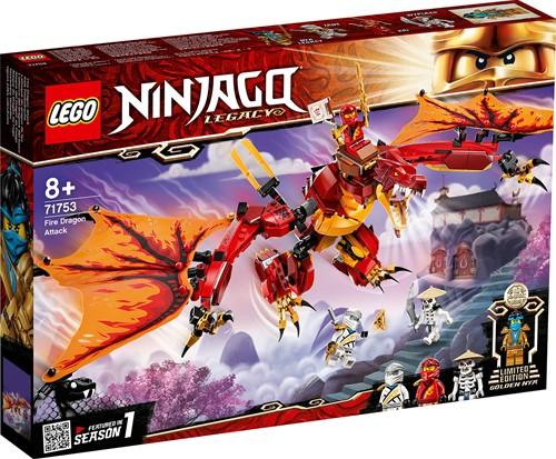 LEGO NINJAGO® Vuurdraak aanval - 71753