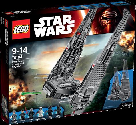 LEGO Star Wars™ Kylo Ren's Command Shuttle™ - 75104