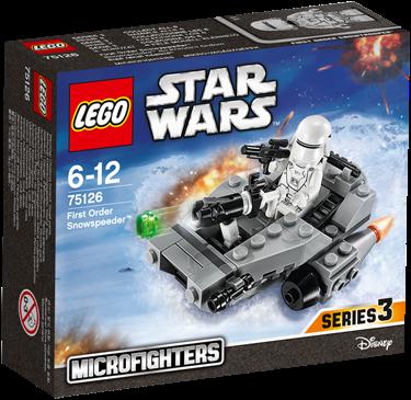 LEGO Star Wars™ 75126 First Order Snowspeeder™ Microfighter