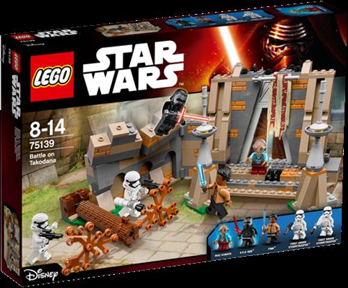 LEGO Star Wars™ 75139 De slag bij Takodana