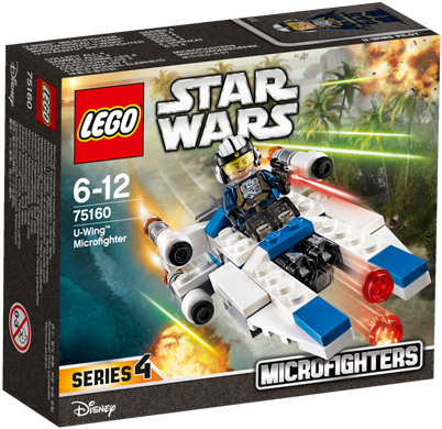 LEGO Star Wars™ 75160 U-Wing™ Microfighter