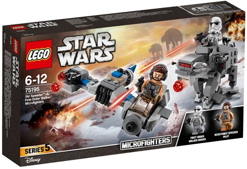 LEGO Star Wars™ Ski Speeder™ vs. First Order Walker™ Microfighters - 75195