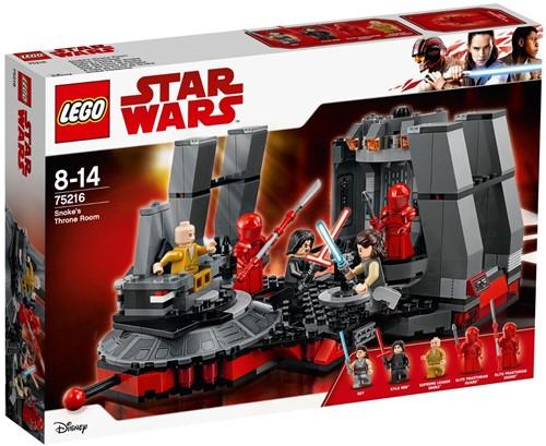LEGO Star Wars™ 75216 Snoke's troonzaal