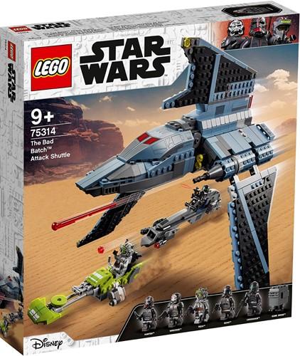 LEGO Star Wars™ The Bad Batch™ aanvalsshuttle - 75314
