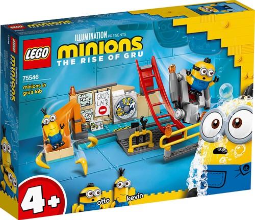 LEGO Minions: Minions in Gru's lab - 75546