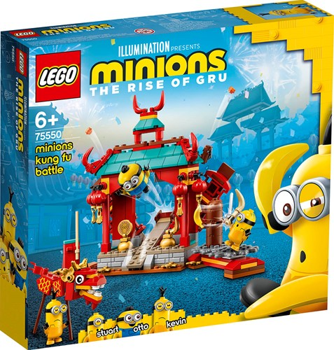 LEGO Minions: Minions kungfugevecht - 75550