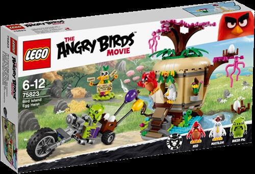 LEGO Angry Birds™ 75823 Bird Island eierenroof