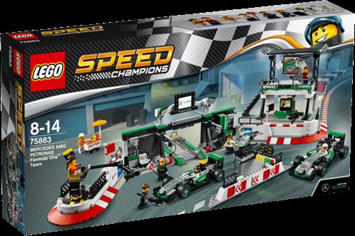 LEGO Speed Champions 75883 MERCEDES AMG PETRONAS Formula One™ Team