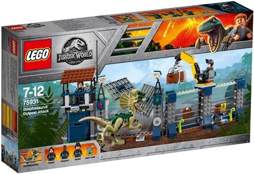 LEGO Jurassic World™ Aanval op de uitkijktoren van Dilophosaurus - 75931