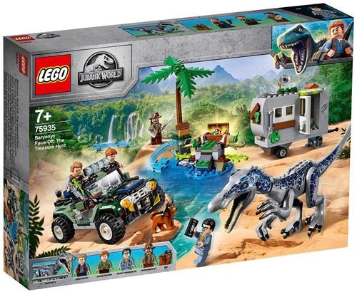 LEGO Jurassic World™ Confrontatie met Baryonyx: de schattenjacht - 75935