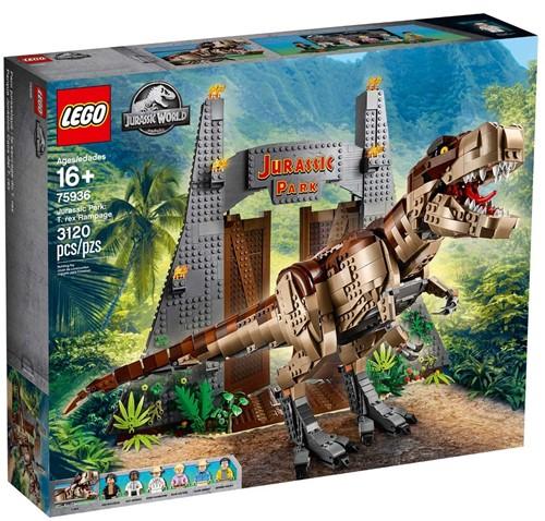 LEGO Jurassic World™ 75936 Jurassic Park: T. rex chaos