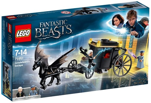 LEGO Fantastic Beasts™ Grindelwald's ontsnapping - 75951