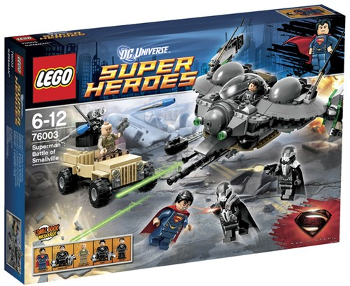 LEGO Super Heroes 76003 Superman™: Strijd om Smallville