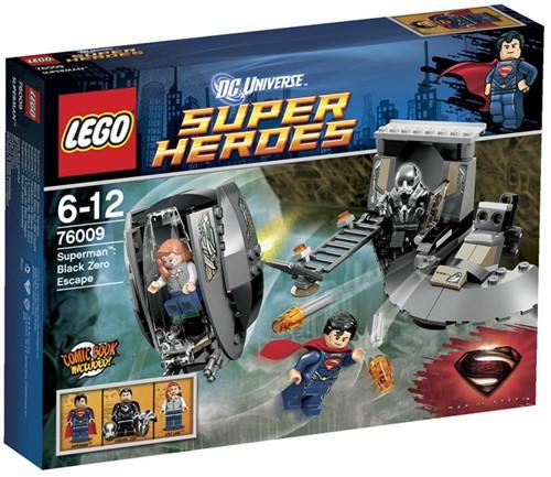 LEGO Super Heroes 76009 Superman™: Black Zero ontsnapping