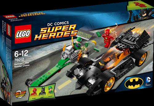 LEGO Super Heroes 76012 Batman™: The Riddler Achtervolging