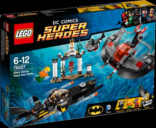 LEGO Super Heroes 76027 Black Manta diepzee aanval