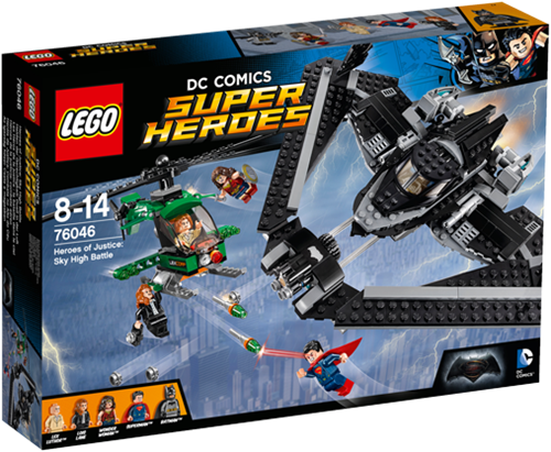 LEGO Super Heroes 76046 Heroes of Justice: Luchtduel