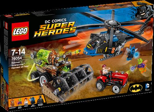LEGO Super Heroes 76054 Batman™: Scarecrow™ zaait angst