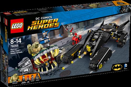 LEGO DC Comics Super Heroes Batman™: Killer Croc™ rioolravage - 76055