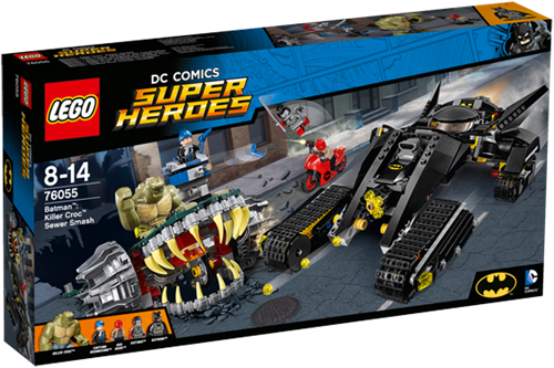 LEGO Super Heroes 76055 Batman™: Killer Croc™ rioolravage