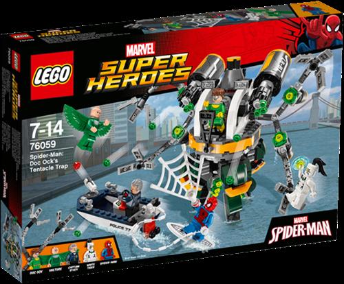 LEGO Super Heroes Spider-Man: Doc Ock's tentakel-valstrik - 76059