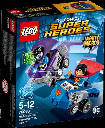LEGO Super Heroes 76068 Mighty Micros: Superman™ vs. Bizarro™